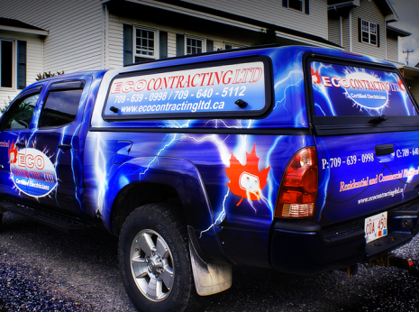 Vehicle Graphics Portfolio J Osmond Design