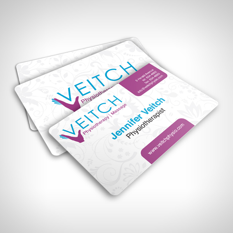 Veitch Physiotherapy Business Cards