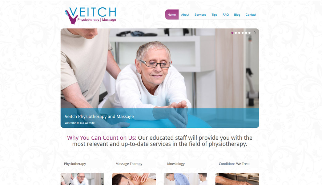 Veitch Physiotherapy And Massage J Osmond Design